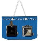 Kodak Brownie Hawkeye Camera Weekender Tote Bag