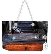 Kodak Folding Autographic Brownie 2-a Weekender Tote Bag by Kaye Menner