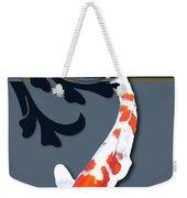 Kohaku Koi With Decorative Flourish Weekender Tote Bag
