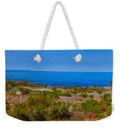 Kohala Coast Panorama Weekender Tote Bag
