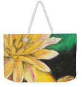 Koi And The Lotus Flower Weekender Tote Bag