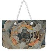Koi Fish Garden Weekender Tote Bag