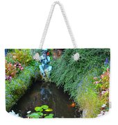 Koi Fountain Weekender Tote Bag