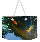 Koi - Oil Painting Effect Weekender Tote Bag