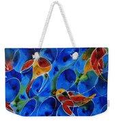 Koi Pond 2 - Liquid Fish Love Art Weekender Tote Bag
