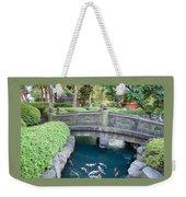 Koi Pond In Senso-ji Temple Grounds Weekender Tote Bag