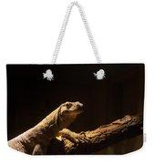 Komodo Dragon Poising Weekender Tote Bag