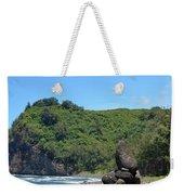 Kona Coast Rock Stack Weekender Tote Bag