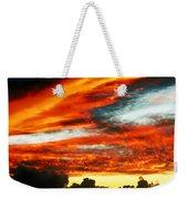 Kona Sunset 77 Lava In The Sky  Weekender Tote Bag