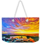 Kona Tidepool Reflections Weekender Tote Bag