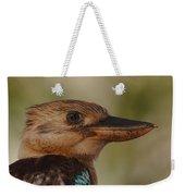 Kookaburra Portrait Weekender Tote Bag