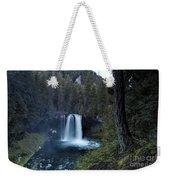 Koosah Falls No. 1 Weekender Tote Bag
