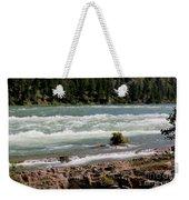 Kootenai Falls Montana Weekender Tote Bag