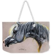 Kordelas Polish Arabian Horse Soft Pastel Weekender Tote Bag