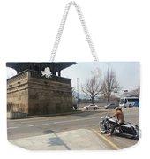 Korea Weekender Tote Bag