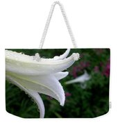 Korean Lily Weekender Tote Bag