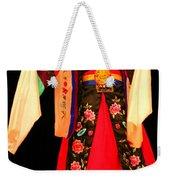Korean Woman Dancer Weekender Tote Bag