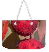 Kousa Dogwood Fruit Weekender Tote Bag
