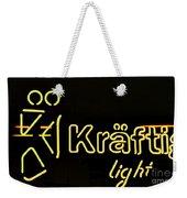 Kraftig Light 1 Weekender Tote Bag