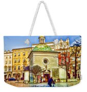 Krakow Main Square Old Town  Weekender Tote Bag