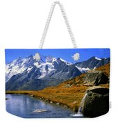 Kreuzboden Lake Weekender Tote Bag