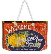 Kruger's Farm Weekender Tote Bag