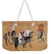 Kublai Khan Hunting Weekender Tote Bag