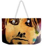 Kurt Cobain 3 Weekender Tote Bag