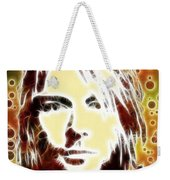 Kurt Cobain Digital Painting Weekender Tote Bag