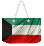 Kuwait Flag  Weekender Tote Bag by Les Cunliffe