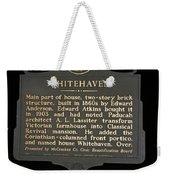 Ky-1754 Whitehaven Weekender Tote Bag