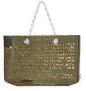 Ky-1995 Joseph Alexander Matthews 1902-1970 Weekender Tote Bag