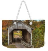 Ky Hillsboro Or Grange City Covered Bridge Weekender Tote Bag