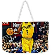 Kyrie Irving Weekender Tote Bag by Florian Rodarte