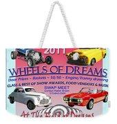 L C Rodrunner Car Show Poster Weekender Tote Bag