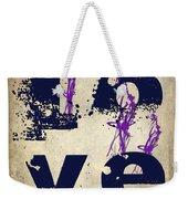 L O V E Crumbling Weekender Tote Bag