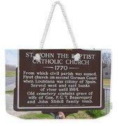 La-024 St John The Baptist Catholic Church 1770 Weekender Tote Bag