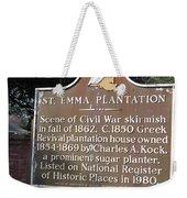 La-034 St. Emma Plantation Weekender Tote Bag