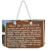 La-036 Ville De Thibodaux Weekender Tote Bag