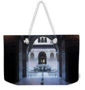 La Alhambra Patio De Los Leones Weekender Tote Bag