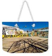 La Boca Graffiti Weekender Tote Bag