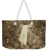La Coca Falls El Yunque National Rainforest Puerto Rico Print Vintage Weekender Tote Bag