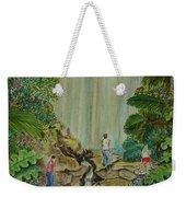 La Coco Falls El Yunque Rain Forest Puerto Rico Weekender Tote Bag