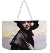 La Coquette Weekender Tote Bag by Gustave Jean Jacquet