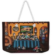 La Familia Or The Family Weekender Tote Bag by Victoria De Almeida