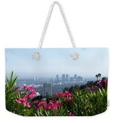 L.a. From Beverly Hills Weekender Tote Bag