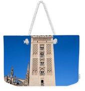 La Giralda Bell Tower In Seville Weekender Tote Bag