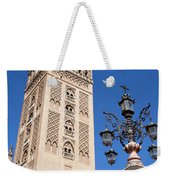 La Giralda Cathedral Tower In Seville Weekender Tote Bag