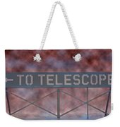 La Griffith Observatory To Telescope Weekender Tote Bag
