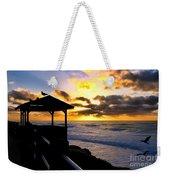 La Jolla At Sunset By Diana Sainz Weekender Tote Bag by Diana Sainz
